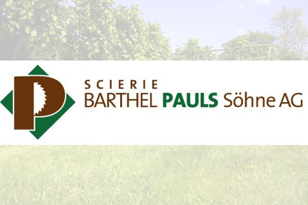 Barthel Pauls Söhne AG Sägewerk
